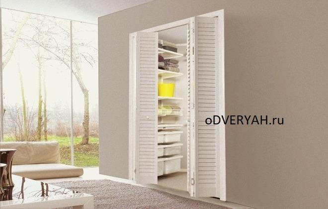 в гардероб