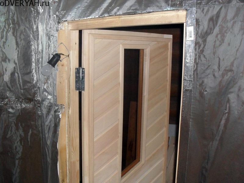 каркасная дверь