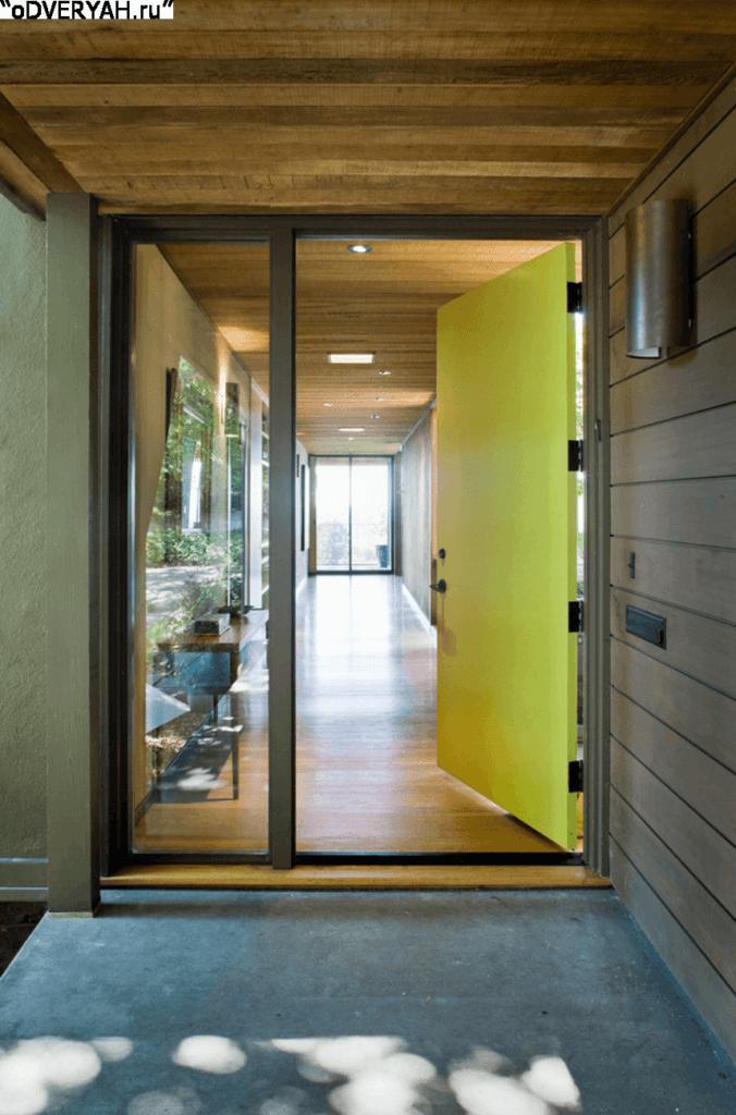 цветная дверь