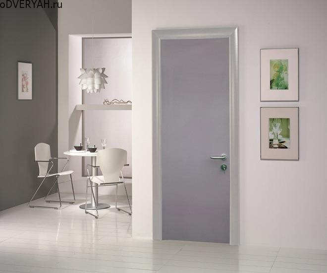 матовая дверь