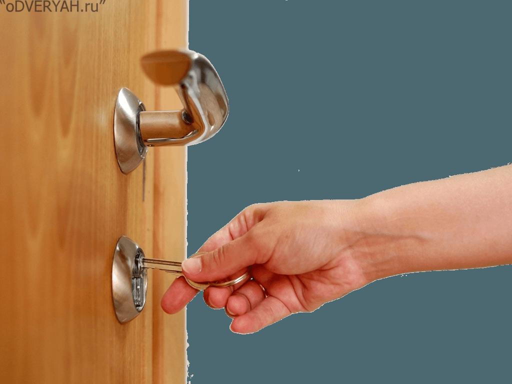 открытие двери