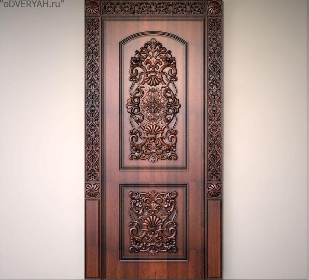 дверь из фанеры