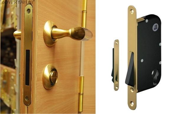 дверь с магнитом
