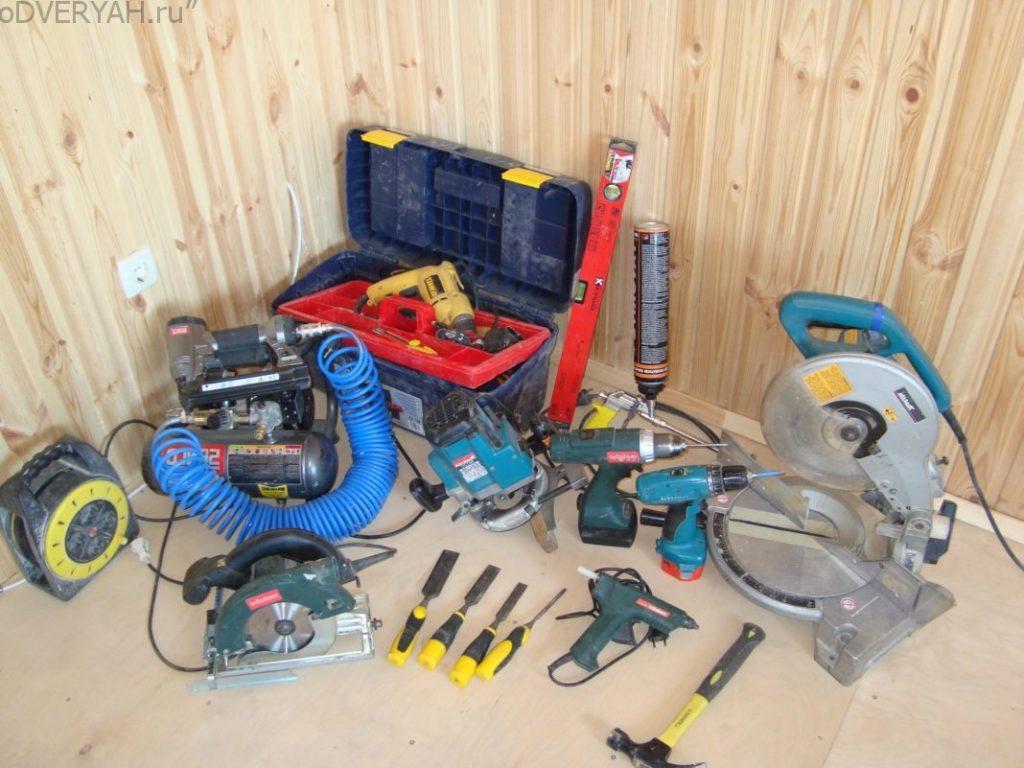 инструменты для дверного монтажа