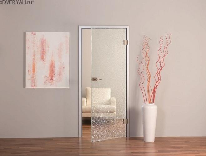 прозрачная дверь