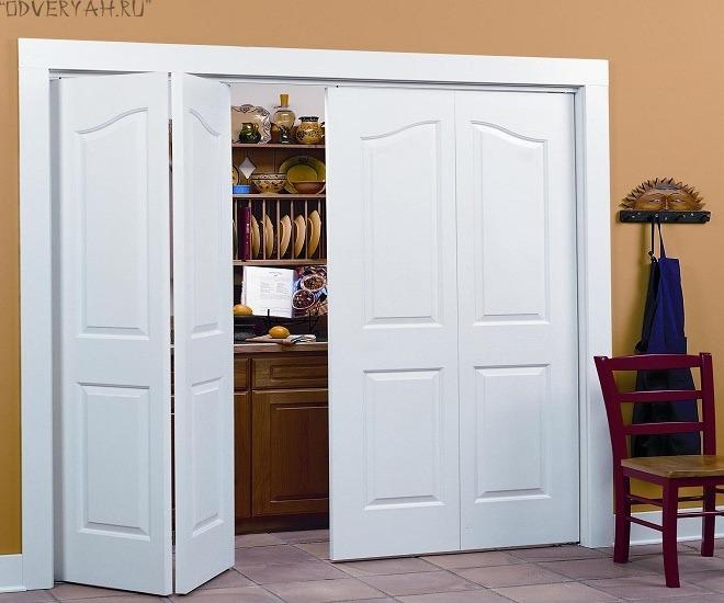 дверь-книжка из пластика
