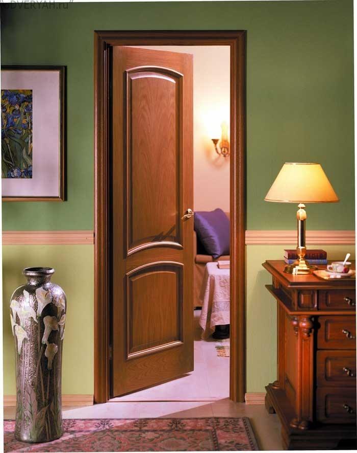 дверь из шпона