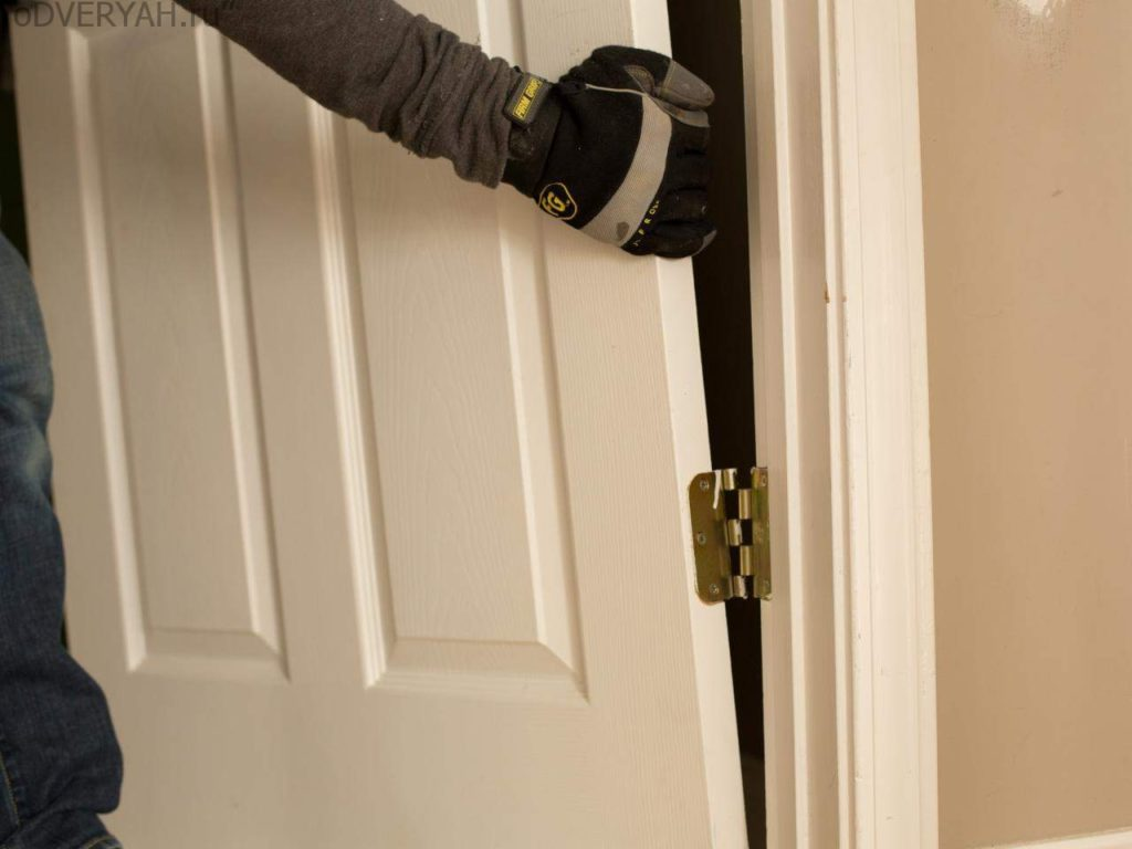 снятие двери