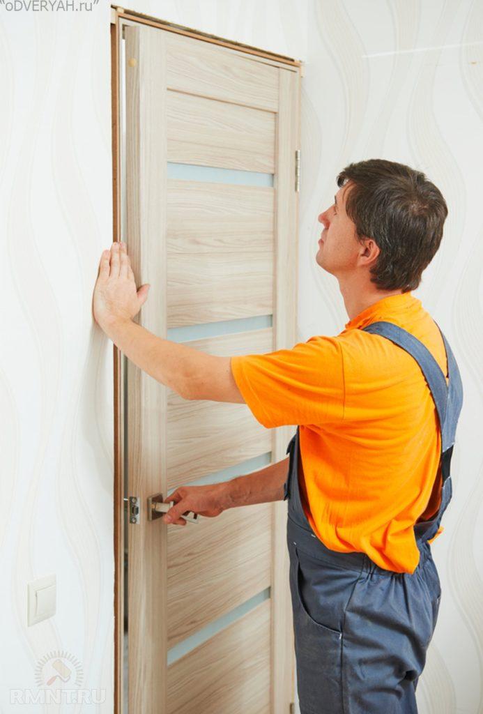 починка двери