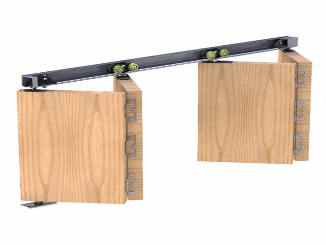 механизм на дверь гармошку