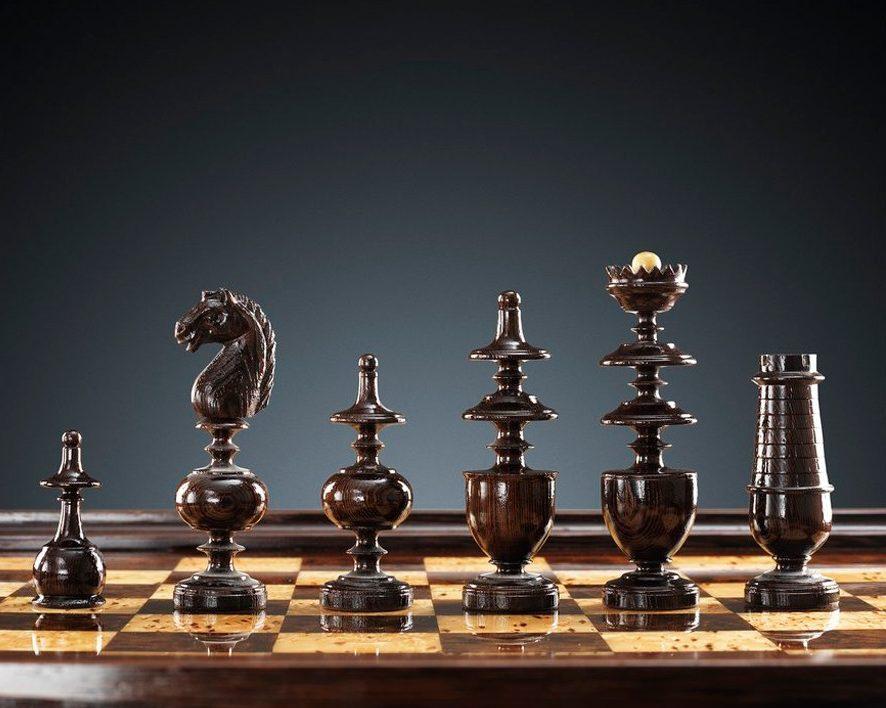 шахматы из венге