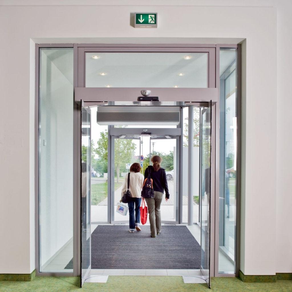рото двери с датчиками