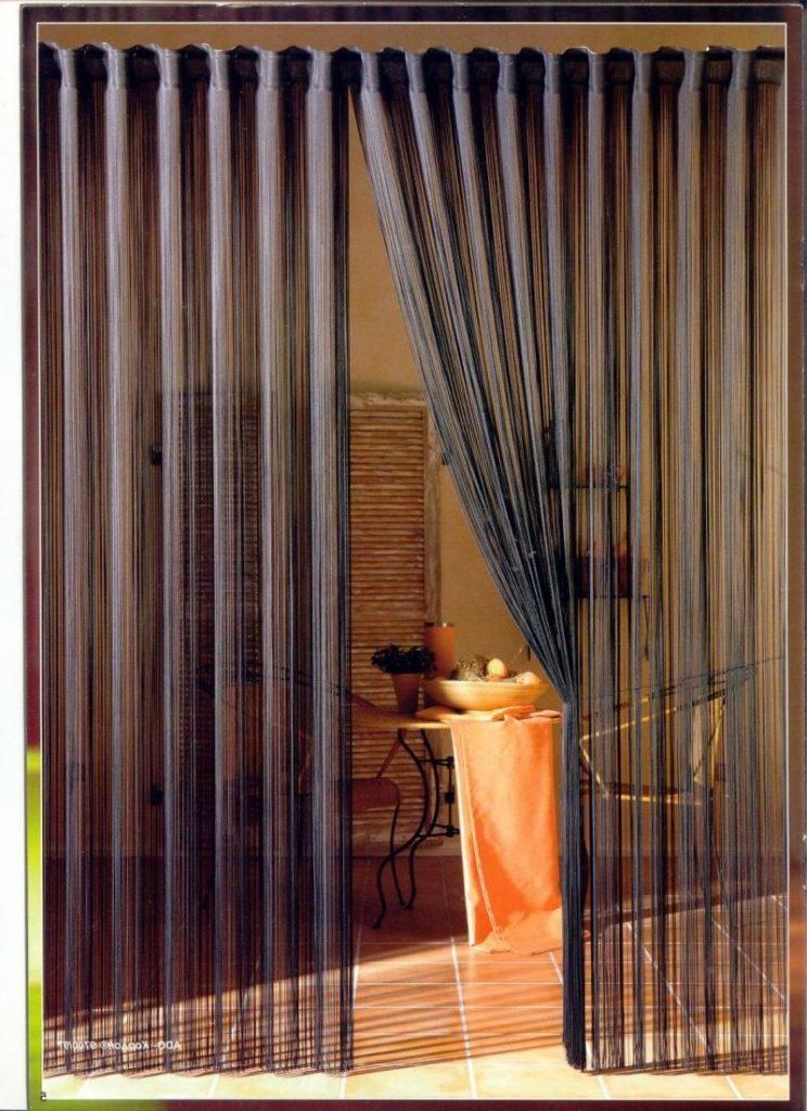 Как называются шторы из бусин