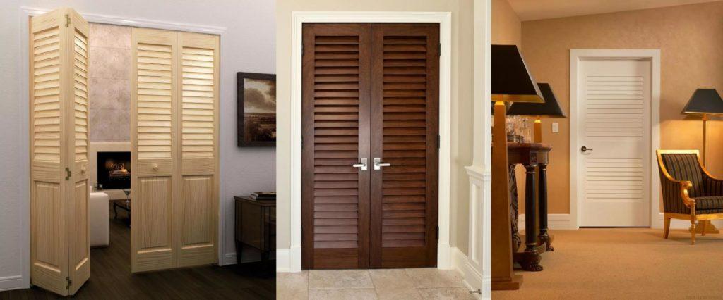 деревянные решетчатые двери