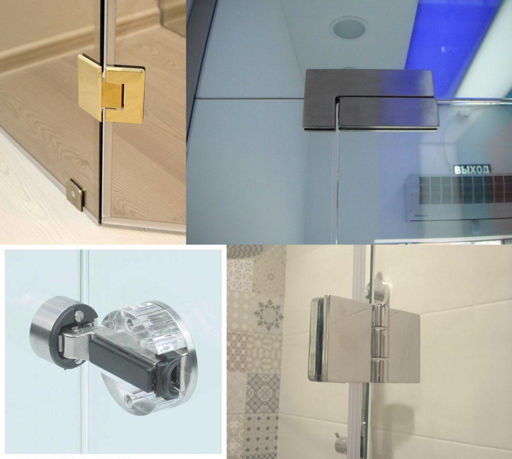 Разновидности петель для дверных конструкций из стекла - советы по выбору крепежей и способы монтажа
