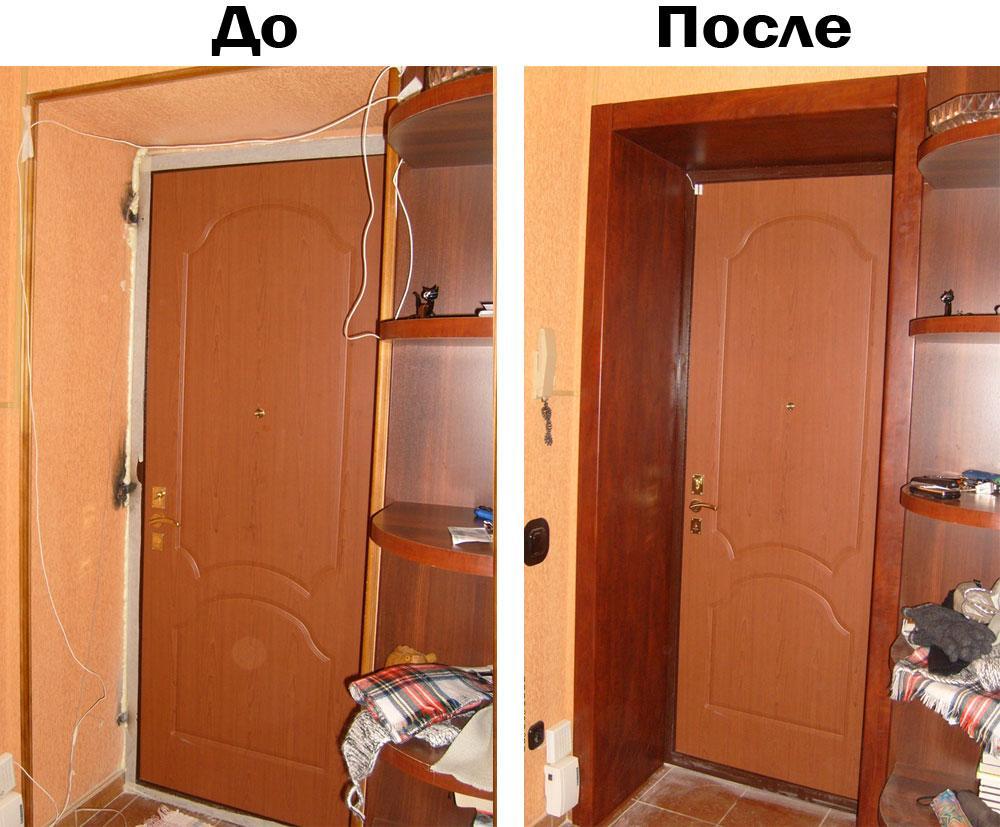 Пошаговая инструкция как из панелей МДФ сделать дверные откосы своими руками