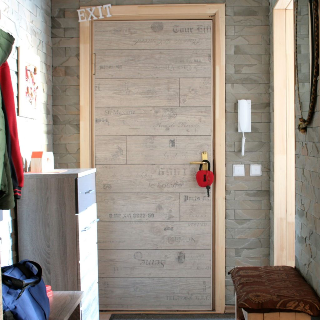 Инструкция как обновить двери с помощью обшивки ламинатом своими руками
