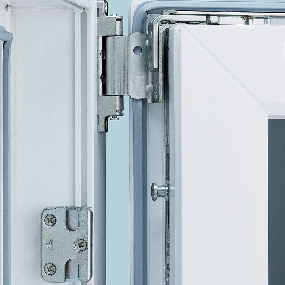 Как правильно подобрать и установить петли для дверей из ПВХ профиля, их особенности и виды
